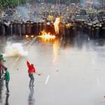 Mahasiswa Ingin Tapi TNI Ogah Kudeta