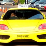 Taxi Ferari Ternyata Untuk Shooting Film