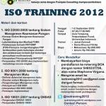Hima Kimia UI Selenggarakan Iso Training 2012