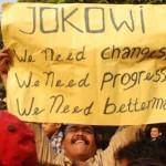 Ekspresi Pendukung Jokowi-Ahok