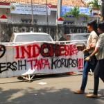 Mahasiswa Mustopo Serukan Indonesia Tanpa Korupsi