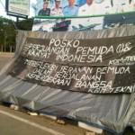Mahasiswa Unhalu Bangun Posko Perjuangan Pemuda