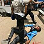 Beginilah Cara Polisi Menangani Mahasiswa Berdemonstrasi