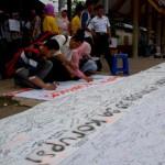 Kampanye Anti Korupsi di Stasiun UI