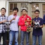 Robot UGM Sukses di Korea Selatan