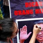 Tanduk setan di kepala Presiden SBY