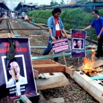 Blokir rel kereta api