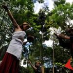 Ritual Ngalokat Rupa Menjaga Hutan Kota
