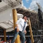 "Ariel Noah nyanyikan lagu ""Raja Negeriku"" di Gelora Bung Karno"