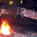 Mahasiswa Unas 5 Jam Blokir Jalan
