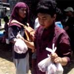 Mahasiswa ITS Berkurban Seekor Sapi di Desa Binaan
