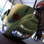 Inovasi Seniman,VW Kodok Diubah Menjadi Perahu
