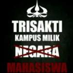 Mahasiswa Tak Ikut Campur Konflik di Universitas Trisakti