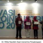 """Pengawet Alami Kecombrang"" Unsoed Juara 1 Ajang Inovasi Agroundustri Expo 2013"