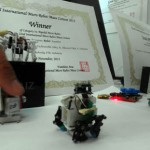 Hebat! Robot Ayam Mahasiswa ITB Juara Dunia