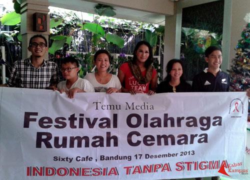 """Ikuti Festival Olahraga """"Indonesia Tanpa Stigma"""" Bersama Rumah Cemara"""