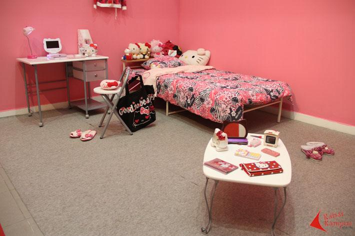 kamar tidur remaja jepang pindah ke galeri nasional