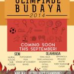 Bakar Semangat di Olimpiade Budaya 2014