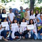 Ramainya Dukungan ATe for KPK di Car Free Day Bandung
