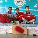 """Robot Terbang """"Ababil"""" Mahasiswa Telkom University Juara KRTI 2014"""