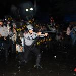 Aktivis AMI Bentrok Dengan Polisi di Salemba
