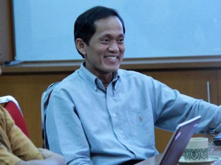 Prof. Kadarsah Suryadi, Rektor ITB terpilih periode 2014 - 2019. Dok. ITB