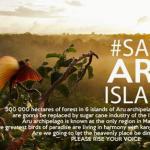Jika Hutan Kepulauaan Aru Dirusak, Indonesia Tidak Punya Jati Diri