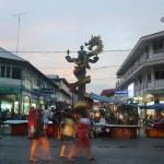 Pasar Beringin Banjir Kini Lokasinya Pindah ke Tugu Naga
