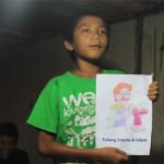 BEM ITS Bantu Hilangkan Trauma Anak Korban Penggusuran