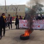 Mahasiswa Unpad Kobarkan Api Perlawanan di Kampus Jatinangor