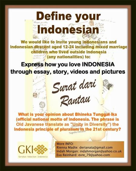 Mencari Inspirasi Dari Luar Untuk Kebhinekaan Indonesia