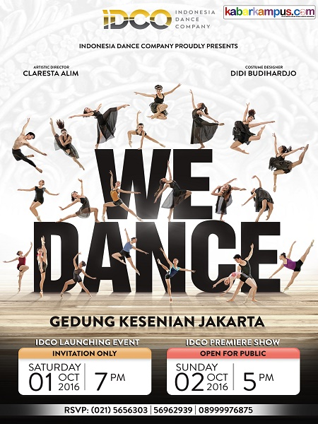 "Indonesia Dance Company Present ""We Dance"""