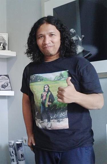 Aminuddin TH Siregar, dosen FSRD Institut Teknologi Bandung.