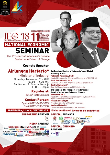 "Seminar ""Indonesia Economic Outlook"" 2018"