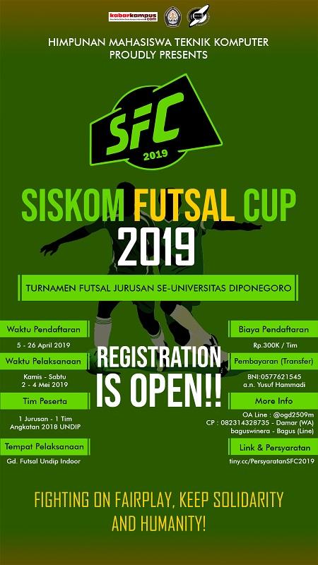 "SISKOM ""Futsal Cup"" Undip 2019"