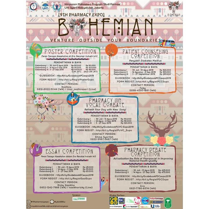 9TH PHARMACY EXPO UIN JAKARTA