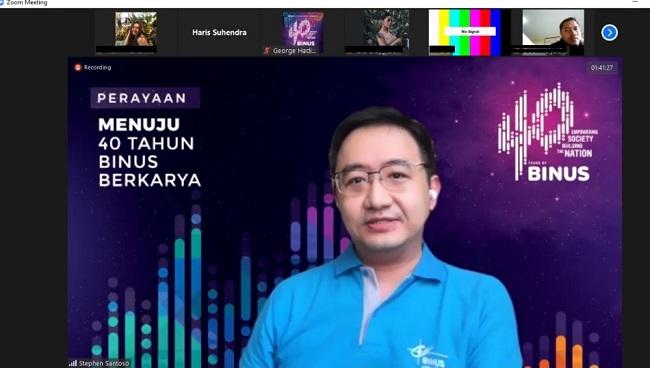 Binus Lebih Siap Kuliah Online