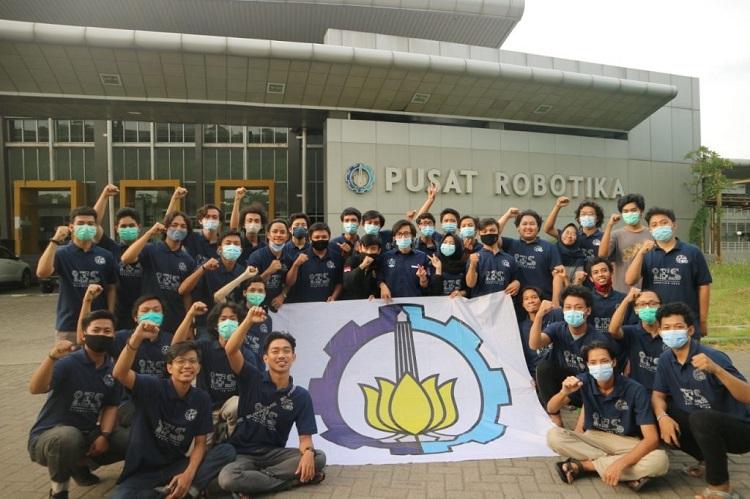 ITS Pertahankan Gelar Juara Umum Kontes Robot Indonesia 2020