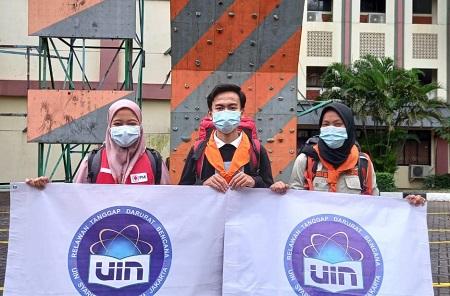 UIN Jakarta Kirim 3 Mahasiswa ke Lokasi Bencana Sulbar dan Kalsel